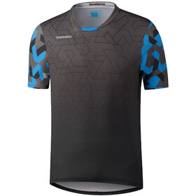Shimano Myoko SS Jersey Men, black/blue